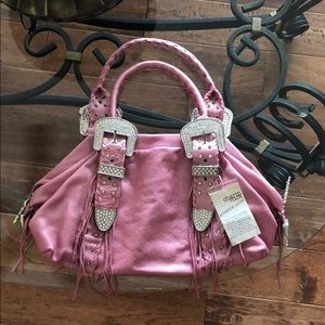 NWT Metallic Pink Charm and Luck Purse